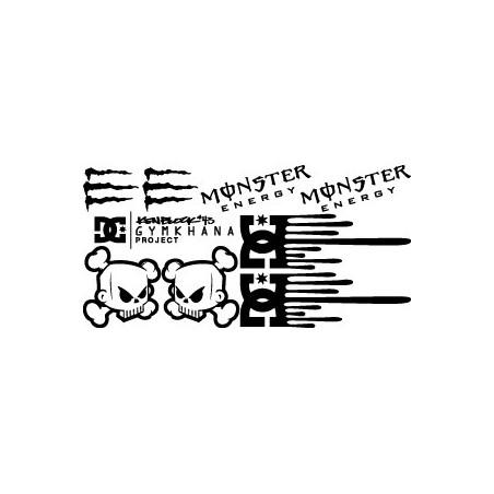Kit spécial Ken Block - DC - Monster Energy