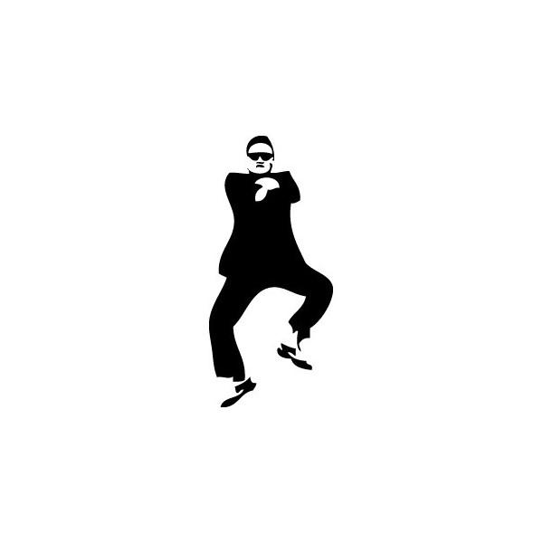 Stickers Psy Oppan Gangnam Style
