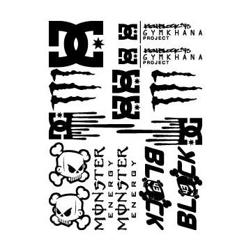 Maxi kit spécial Ken Block - DC - Monster Energy