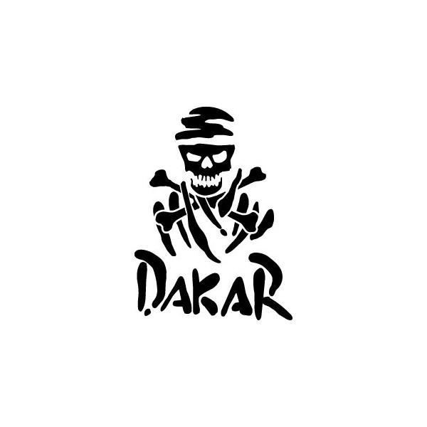 Stickers voiture Dakar Skull