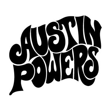 Stickers Austin Power