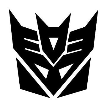 Decals Transformers - Decepticon