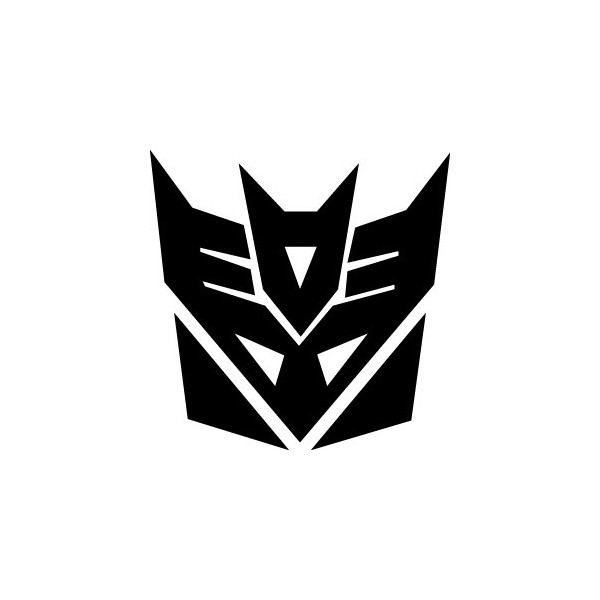 Stickers Transformers - Decepticon