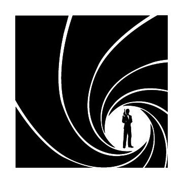 Stickers James Bond 007
