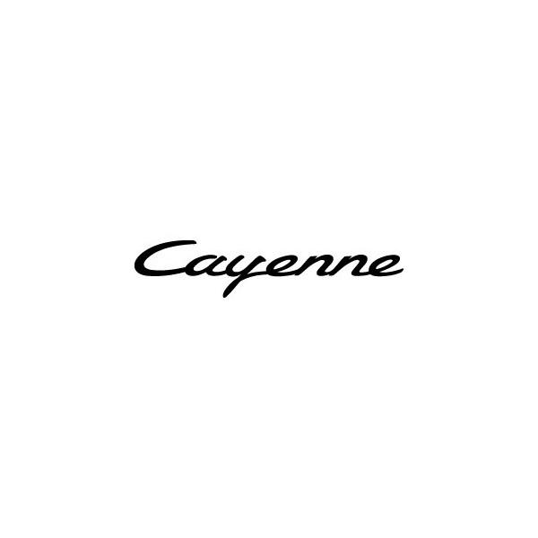 Decals Porsche Cayenne
