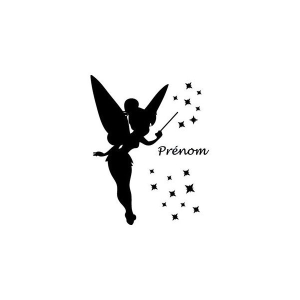 Wall stickers Fairy + Name