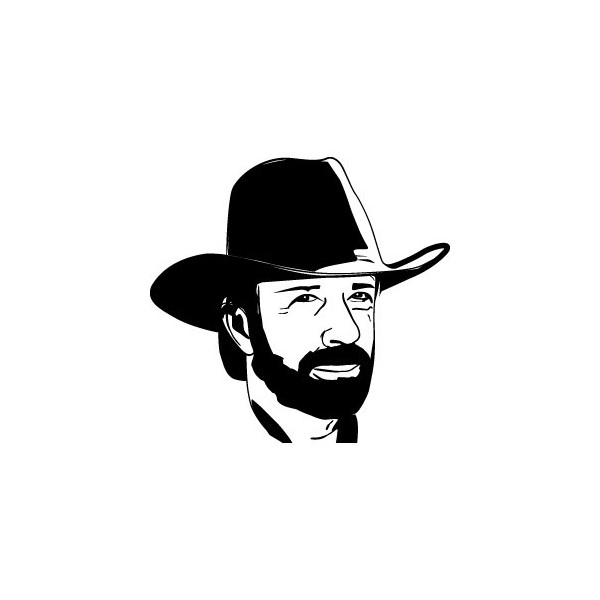 Stickers Chuck Norris