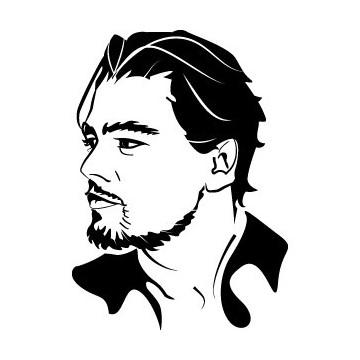 Decals Leonardo DiCaprio