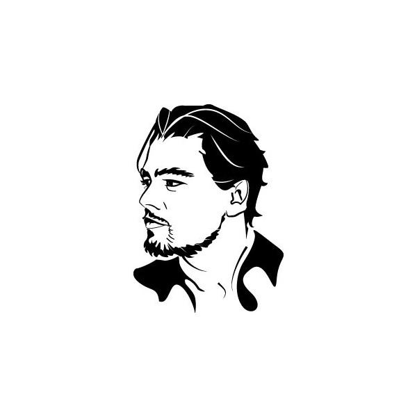 Stickers Leonardo DiCaprio