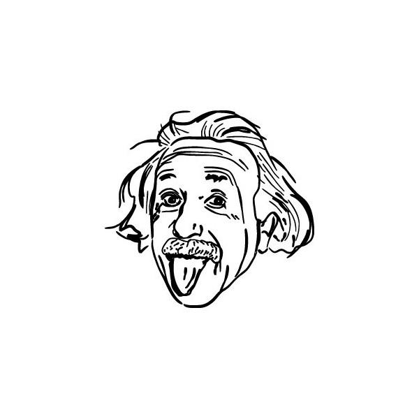 1401 Decals Einstein