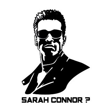Stickers Terminator Sarah Connor ?