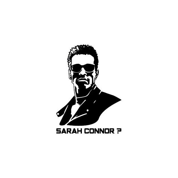 Stickers Terminator Sarah Connor ?