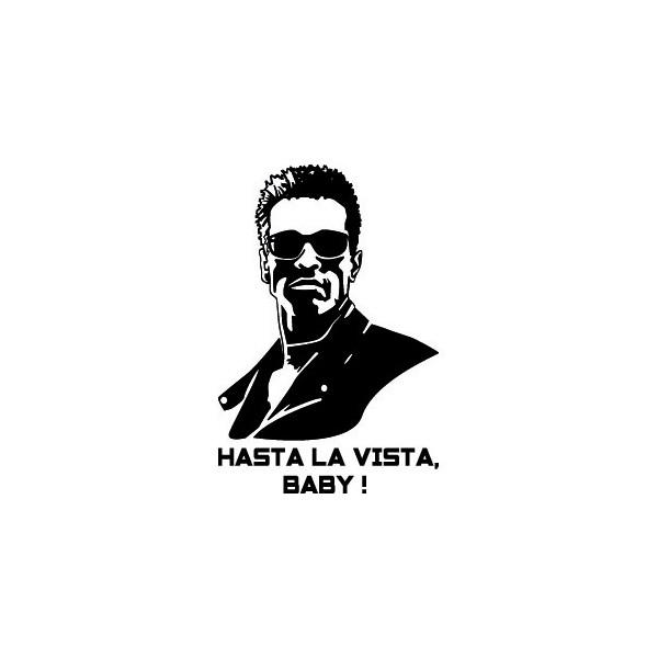 Stickers Terminator Hasta la Vista, Baby !