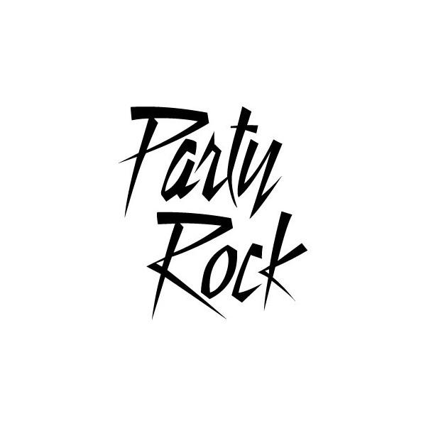 Decals LMFAO Party Rock