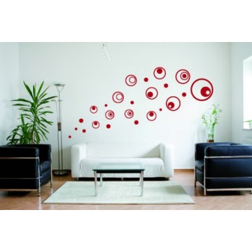 Stickers Mural Rond Pop Circle