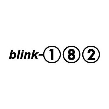 Autocollant Blink 182
