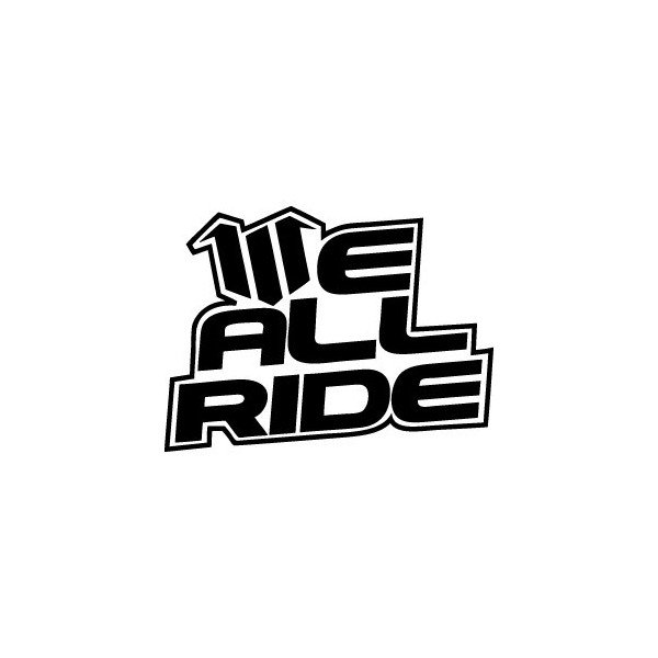 Stickers We All Ride