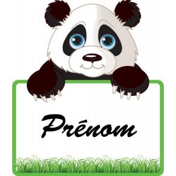 Le Panda + Prénom...