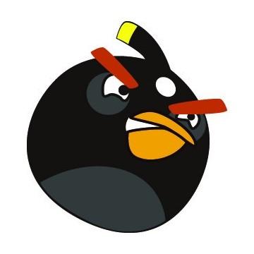 Angry Birds Noir