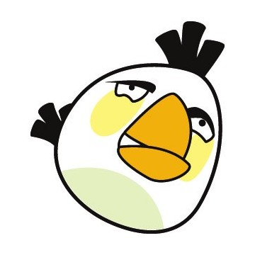 Angry Birds Blanc