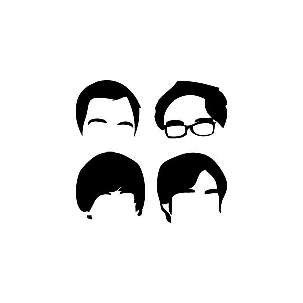 Passion Stickers Tv Series Decals The Big Bang Theory