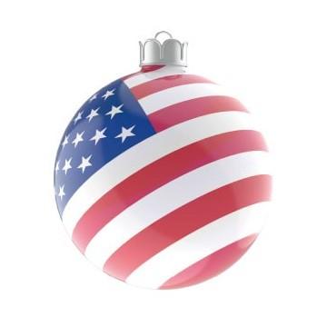 Boule de Noël Etats Unis