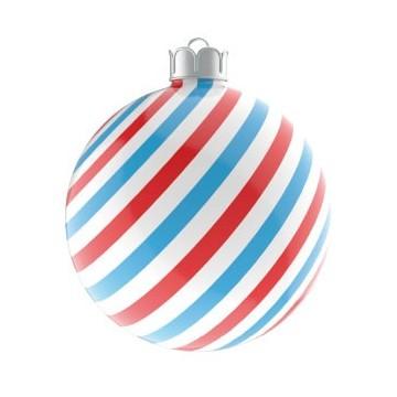 Christmas Ball Red & Blue...
