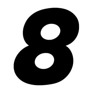 Numéro Course 8