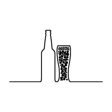 Silhouette Biere & Verre