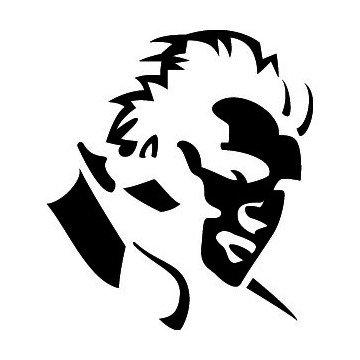 Silhouette Elvis Presley