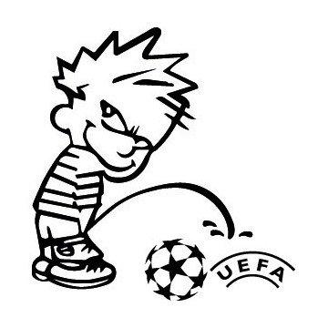 Bad boy fait pipi sur UEFA
