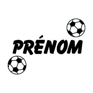 Ballon de Foot + Prénom...