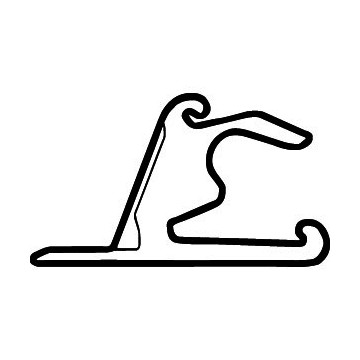 Tracé Circuit F1 Chine
