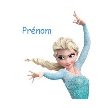 Elsa + Personalized Name