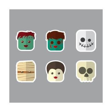 Kit Monstres Halloween