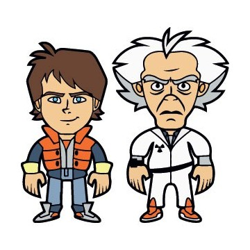 Back To The Future Character