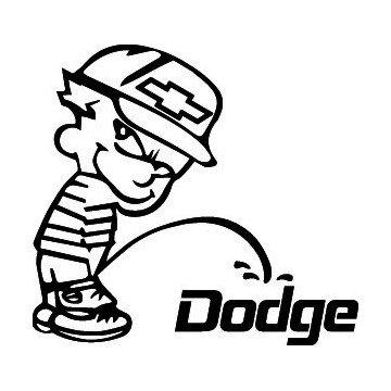 Bad boy Chevrolet pee on Dodge