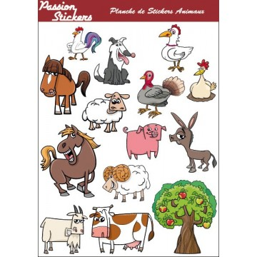 Farm Animals Sheet Kit