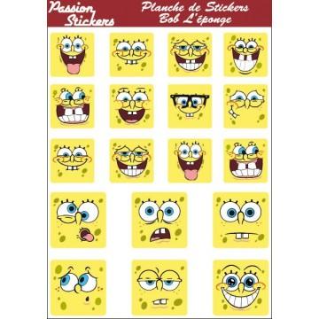 Planche de Stickers Bob...