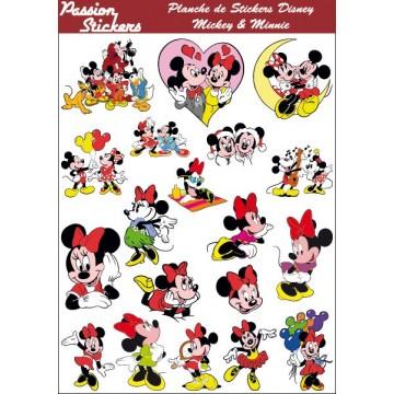 Planche de Stickers Disney