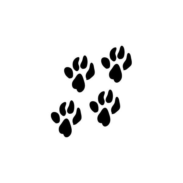 Pattes de chiens