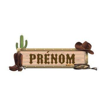 Cowboy Personalized Name