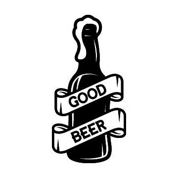 Silhouette Biere Good Beer