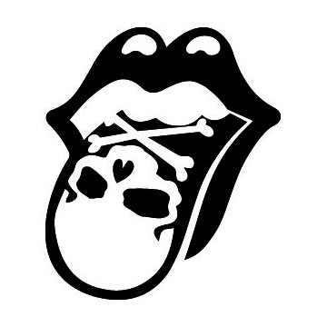 The Rolling Stones Skull...
