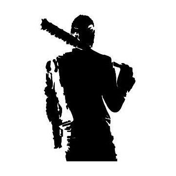 Silhouette Negan