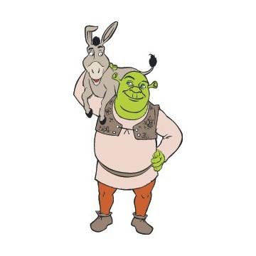 Shrek & L'âne