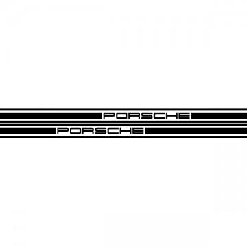 Porsche Door Strip