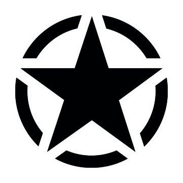 Jeep US Army Star