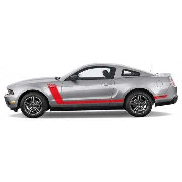 Bandes Ford Mustang Boss...