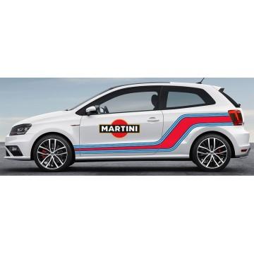Bandes Martini Volkswagen Polo